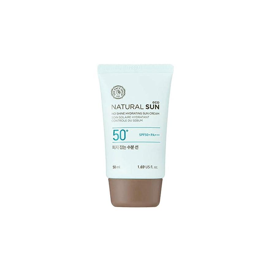 できるぬるい成長する[ザ?フェイスショップ] The Face Shop ナチュラルサン エコ ノーシャイン?ハイドレーティング?サン?クリーム SPF40 PA+++ The Face Shop Natural Sun Eco No Shine Hydrating Sun Cream SPF40PA+++50ml [海外直送品]