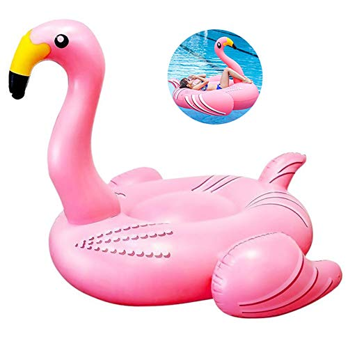 GWX Wasser Aufblasbares Sofa Pool Schwimmt Flamingo Erwachsenen Schwimmenring Kinder Wasser Aufblasbare Tiere Strand-Pool-Party Halterung