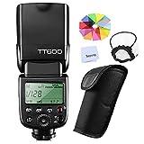 【日本語説明書付】GODOX Thinklite TT600 フラッシュ スピードライト マスター/スレーブフラッシュ with 内蔵 2.4G ワイヤレストリガ・システムGN60 Canon・Nikon・Pentax・Olympus DSLR カメラ対応