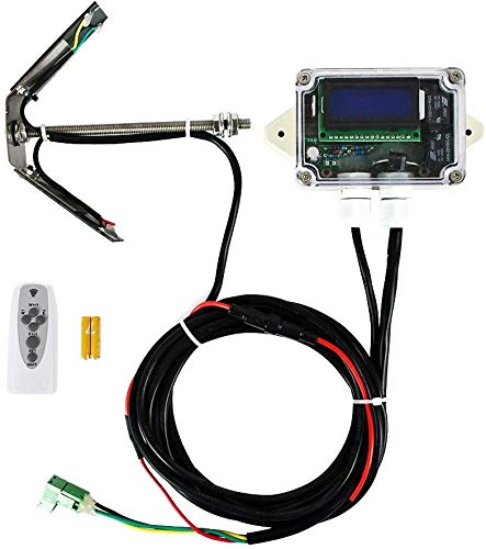 ECO-WORTHY Single/Dual-Achsen Solar-Tracker Linear-Stellmotor-Controller für Solarpanelsystem (Single-Achsen)
