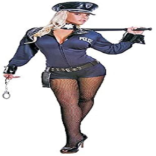 Dress Up America Frauen Erwachsener Sexy Polizist Kostüm
