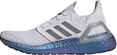 adidas Ultraboost 20, Zapatillas para Correr para Hombre, Dash Grey/Grey Three F17/Boost Blue Violet Met, 44 2/3 EU