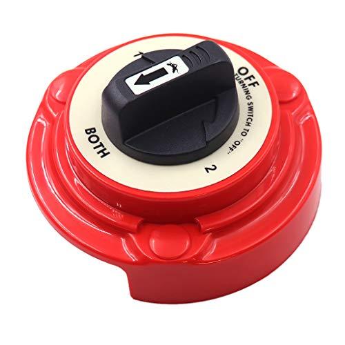 Toygogo 4-Positionen Batterie Wahlschalter Trennschalter für Boot Jacht, Wasserdicht, UV-Schutz