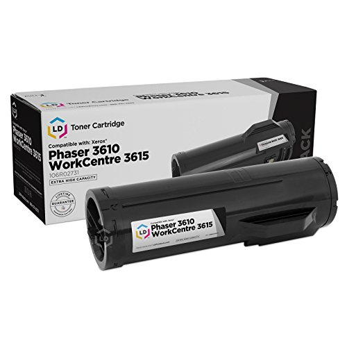 LD Compatible Toner Cartridge Replacement for Xerox 106R02731 Extra High Yield (Black)