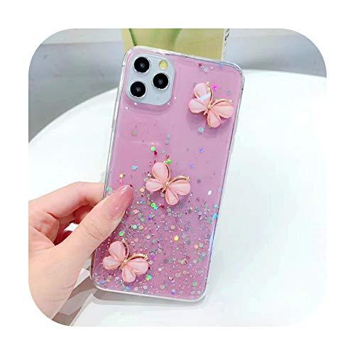 Funda transparente para iPhone 12 11 pro max Mini x xr xs max 7 8 6 6s Plus se2020 carcasa trasera TPU-Photo Color-para iPhone 11