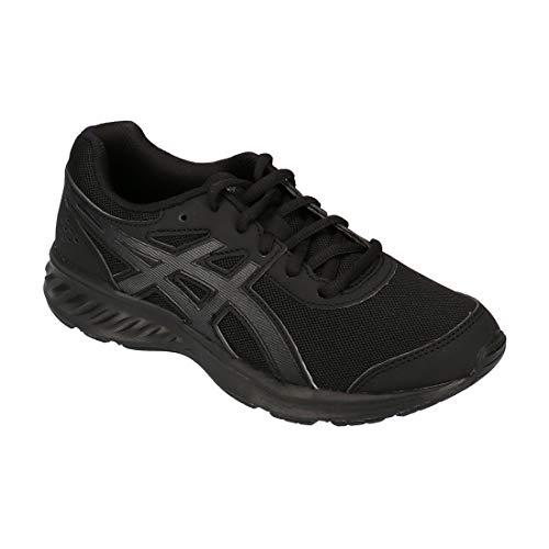 [アシックス] レーザービーム 1154A062 キッズ スニーカー 001 100 ブラック ホワイト ランニングシューズ 消臭 通学 部活 運動靴 子供靴 男の子 女の子 [001] ブラック/ブラック 23.0cm