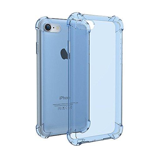 Anti golpear caso para el teléfono 7 suave TPU gel cubierta protectora de silicona capa 4.7 pulgadas