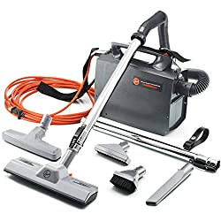 Budget Choice for Best Commercial Vacuum: Hoover PortaPower Lightweight Commercial Canister Vacuum