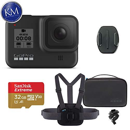 GoPro HERO8 Black Action Camera w/GoPro Sports Kit and 32GB Memory Card