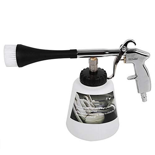 Pistola per pulizia ad alta pressione, Attrezzatura per la pulizia di impulsi d\'aria interna per auto Spruzzatore di lavaggio ad alta potenza con bottiglia di schiuma