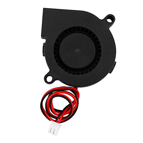 Fan for Printer, High Precision Cooling Fan, Black for Cooling Heat Sinks on Hot Ends Replacement Parts Cooler Kit Accessories(12V)