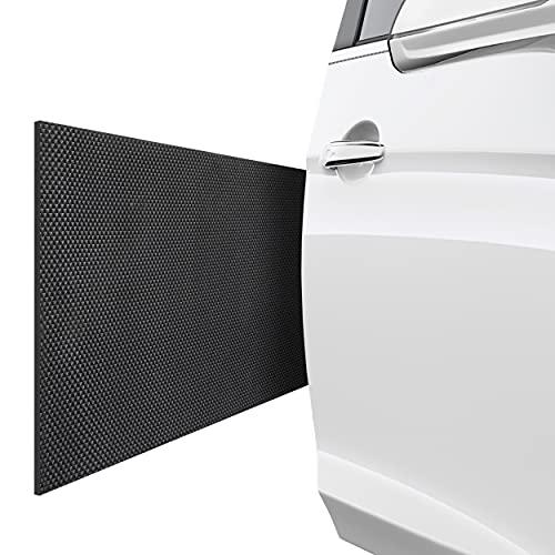 AWOSS | Auto Garagen Wandschutz selbstklebend - 2er Set Garagenwandschutz 200x20x0,65cm – Bombenfester Kleber – Stoßsicheres & wasserabweisendes Material