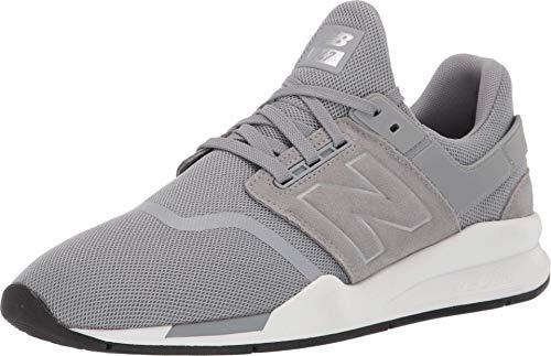 New Balance 247v2, Zapatillas para Hombre, Plateado (Steel Steel), 37 EU
