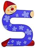 Janod Letter S B004XS8HTQ Lettre Clown en Bois, J04560,...