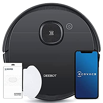 Foto di ECOVACS DEEBOT OZMO 950 - Care, robot aspirapolvere 2 in 1 con funzione lavapavimenti e navigazione intelligente, controllo Google Home, Alexa e app + salviette per la pulizia