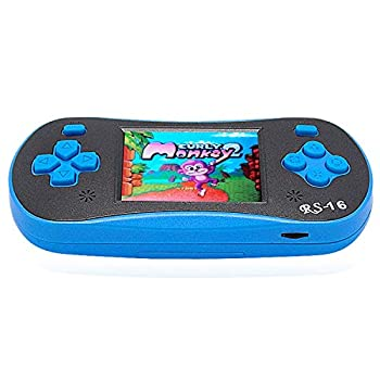 FAMILY POCKET Tbrand Game Console Mini Classic Game System Built-in 260 Games 2.5-inch HD Color Screen Plug and Play Children s Gift Mini Classic Game Console