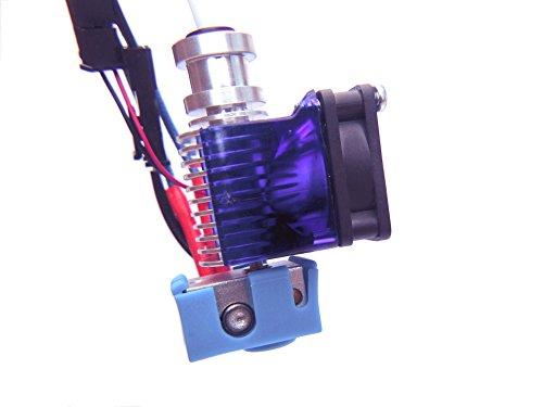Kit completo de extrusora de extrusión V6, impresora 3D J-head 1.75mm Direct (Universal) 12V para Prusa i3 Reprap Impresoras 3D