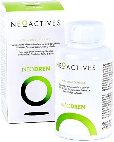 NeoDren (90)   Para retención de líquidos   Apoyo para programas de pérdida de peso o detox   compuesto por 5 plantas naturales   Complemento concentrado, solo 1 capsula día   90 Capsulas
