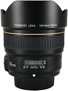 YONGNUO YN14mm F2.8N Ultra-Wide Angle Prime Lens for Nikon DSLR Cameras