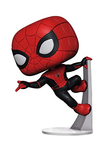 Funko 39898 POP! Vinyl: Spider Man Far from Home: Spider-Man (Upgraded Suit)