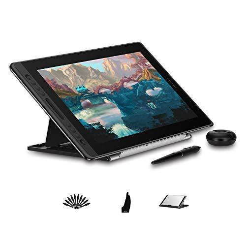 """HUION Monitor de Dibujo Gráfico Kamvas Pro 16-15.6"""" Tableta Gráfica con Pantalla, Pantalla Laminada Completa, lápiz PW507 sin Batería, 120% sRGB"""
