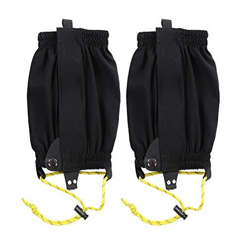 Fafeims 1 para elastycznych legginsów owija ochraniacze na buty narciarskie do narciarstwa biegowego na świeżym powietrzu