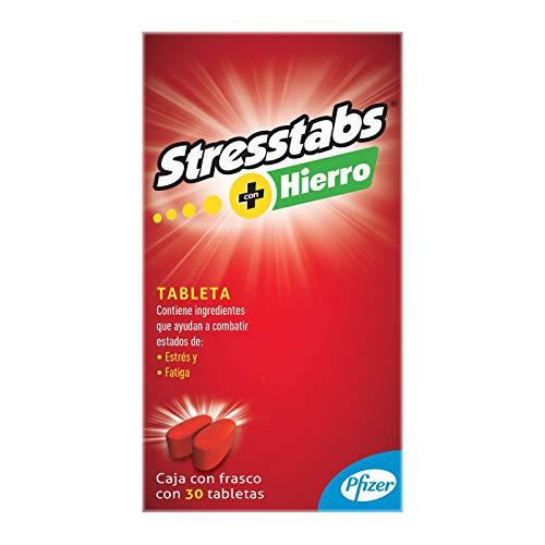 Stresstabs Multivitamínico con Hierro Frasco con 30 tabletas