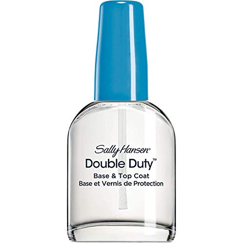 Scopri offerta per Sally Hansen - Base 3 Top Coat Double Duty - Doppia Base Rinforzante e Top Coat Trasparente 2in1 - 13,3 ml
