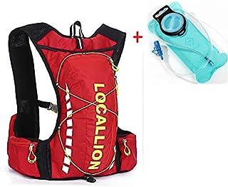 – Mochila para ciclistas 10L Mochila 2L Hidratación. Senderismo Trail