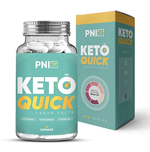 PNI Keto Quick - KETOGENIC Formula - BHB Salts - Best Ketones