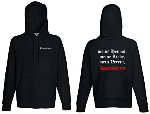 Kaiserslautern Herren Kapuzensweat Ultras Meine Heimat Schwarz XL