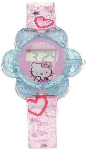 MT Creations Gruppo Jemini–824898–Gioiello e cosmetici–Orologio LCD Fiore–Hello Kitty
