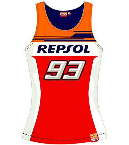Camiseta de tirantes para mujer Repsol Marc Marquez Big 93