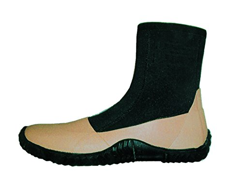 ForEverlast Unisex-Adult Gen I Flats Boots Size 12, Beige/Black