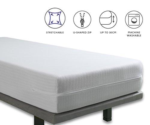 Tural – Funda de colchón de Cuna Extra elástica y Resistente. Cier