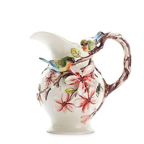 HongLianRiven Modern Mode Grote Keramische Vaas Kruik Continentaal Bloem Plug Grote Vaas Bloemen Hydroponische Vaas 9-3