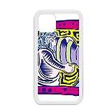 Constellation Aquarius Mexicon Culture - Carcasa para iPhone 12 Pro Max, diseño con grabado de la cultura mexicana, color blanco