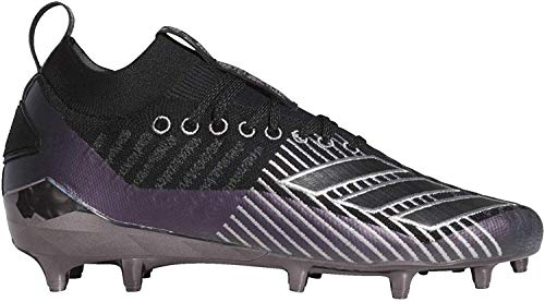 adidas Adizero 8.0 Primeknit Cleats Men's, Black, Size 18