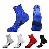 Thicken Towel Bottom Basketball Socks Sweat Deodorant Running Socks Professional Outdoor Men's Sports