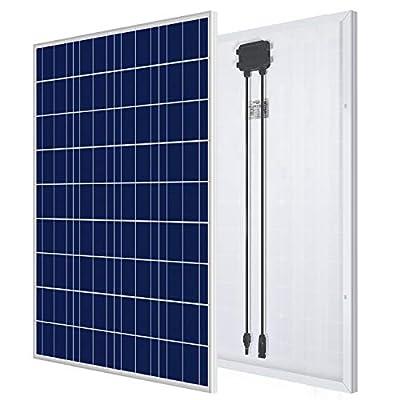 ECO-WORTHY 100 Watt 12 Volt Polycrystalline Solar Panel High Efficiency Module Charge Battery for RV, Boat,Caravan,Camper