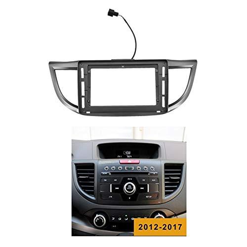CCHAO Película de Radio de automóvil Adecuado para 2012-2016 CRV 10.1 Pulgadas DVD Stereo DVD Player Set Disco DE Cara (Color Name : Black)