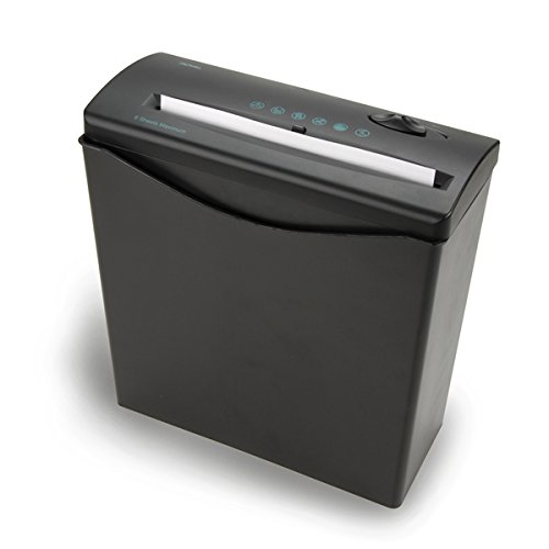 Royal JS55BASKET 5-Sheet Strip Cut Shredder with Plastic Basket