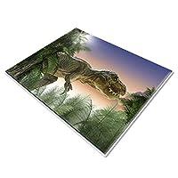 Dinosaur Rug Animal Childrens Play Area Rug,Non Slip Floor Mat for Living Room Bedroom, 80*160cm