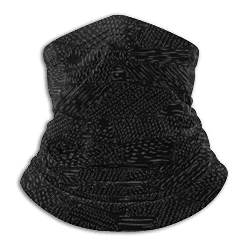ngxiandaz Fleece Neck Warmer - Halsgamasche mit abstraktem Muster, Bandana, Maske, Stirnband und...