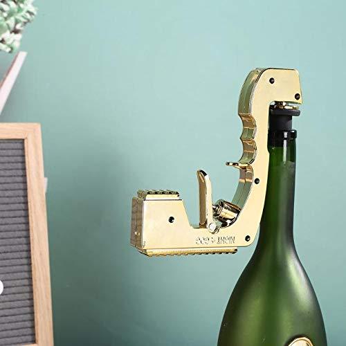Tire bouchon Offre Spéciale Champagne Vin Éjecteur Distributeur Alliage Soda Bière Fontaine Bouteille Verseur Cuisine Club Fête Bar Accessoires Or