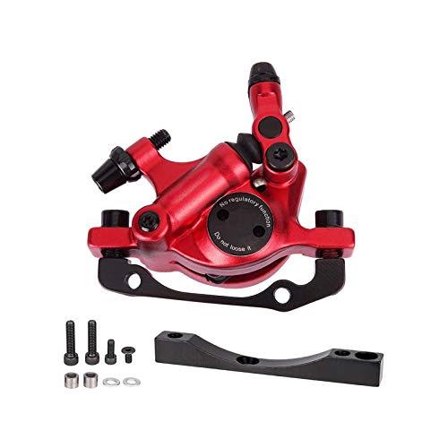 Juego de frenos de disco para scooter, pinzas de freno de disco hidráulicas delanteras traseras de 8.5 pulgadas con control de base adaptadora para bicicletas eléctricas Xiaomi m365 / m365pro / Pro2