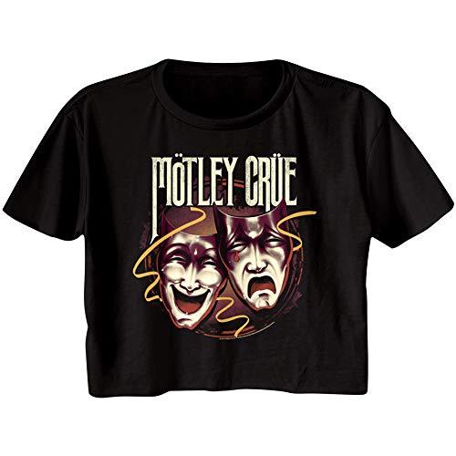 Motley Crue Theatre of Pain Album Artwork Ladies Festival Cali Crop Top Shirt