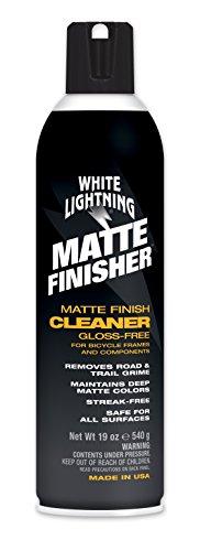 White Lightning – Mate Finisher, Aerosol Acabado Mate Bici