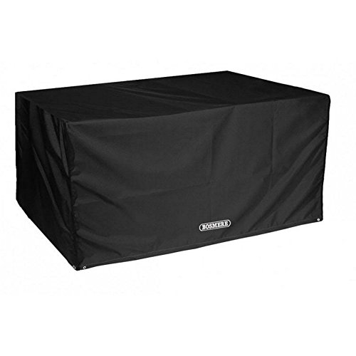 Bosmere Protector 6000 Storm Black 8 Seat Rectangular Table Cover - Black, D560