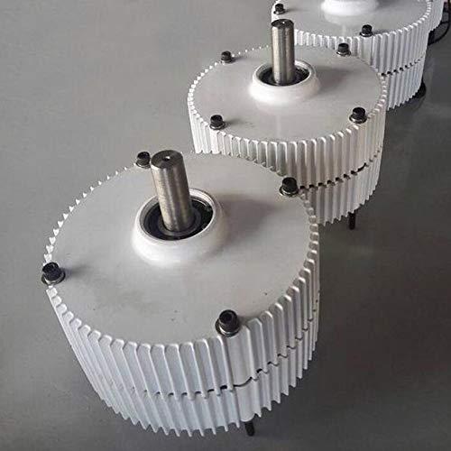 DAXINYANG Girar Baja Velocidad 300W 400W 12V / 24V / 48V de Salida de la turbina de Viento generador de imán Permanente alternador de Baja RPM PMG,Single Shaft,12V 400W